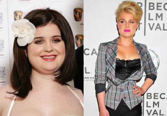 Келли Осборн до и после похудения