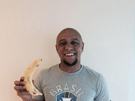 Сочетание Роберто Карлос и банан стало известным мемом
