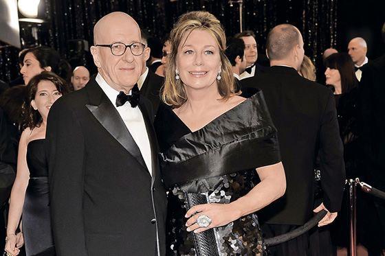 Джеффри Раш с женой