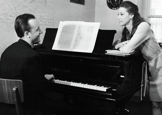 Майя Плисецкая и ее муж Родион Щедрин