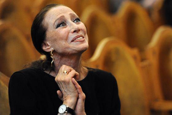 Майя Плисецкая до последних своих дней жила балетом