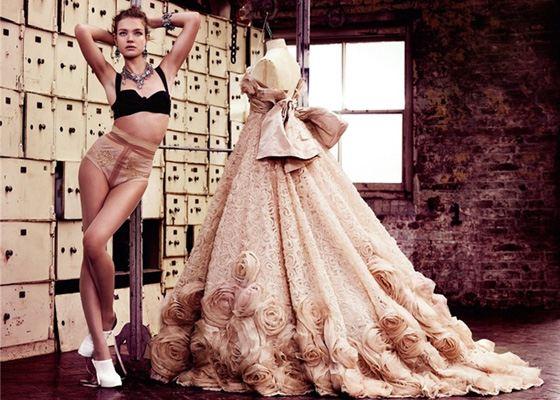 Наталья Водянова для Vogue