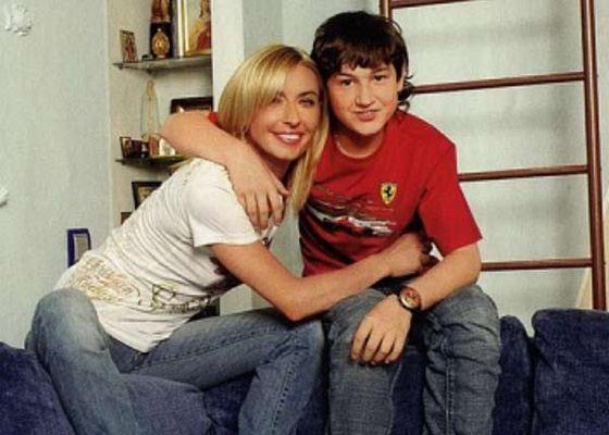 Татьяна Овсиенко с сыном Игорем