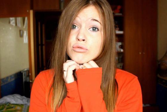 Полина Гренц до «Физрука» вела видео-блоги