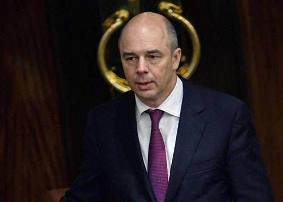Министр Антон Силуанов