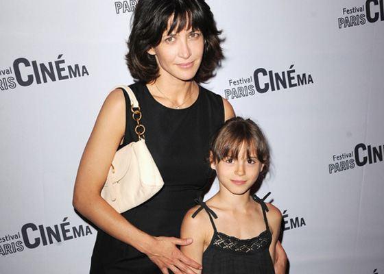 Софи Марсо с дочерью