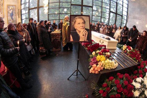 Похороны Риммы Марковой