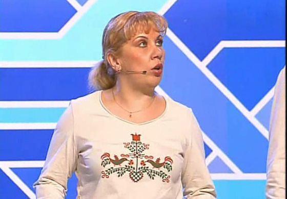 Марина Федункив в КВН