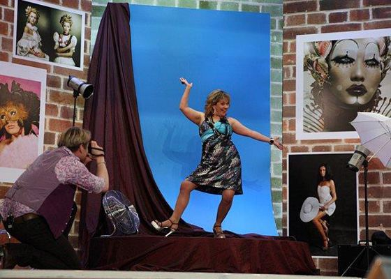 Марина Федункив на сцене