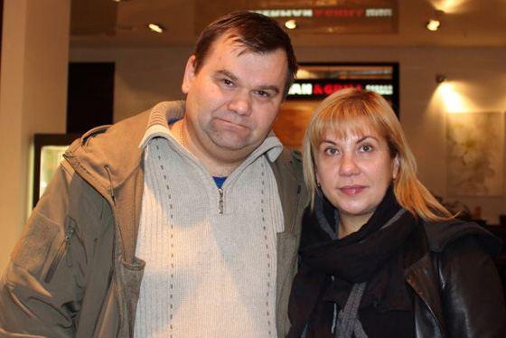 Марина Федункив и ее муж Андрей