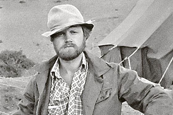 Сергей Миронов в геологической экспедиции
