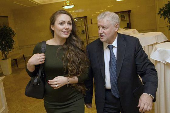 Четвертая жена Сергея Миронова Ольга