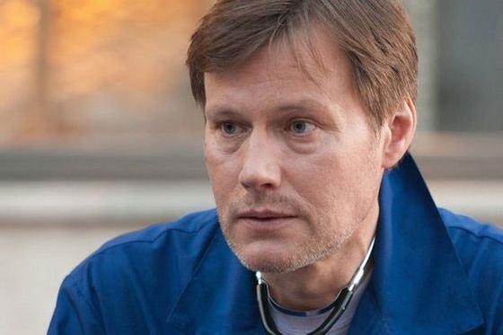 Игорь Гордин на съемках фильма «Московские сумерки»