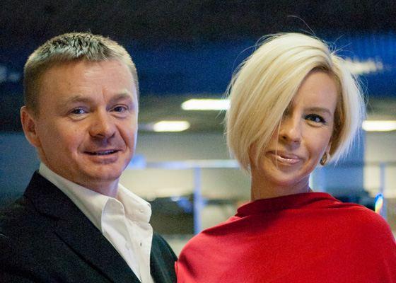 Владимир Сычев и его жена