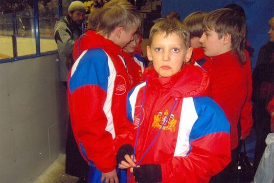 Максим Ковтун в детстве