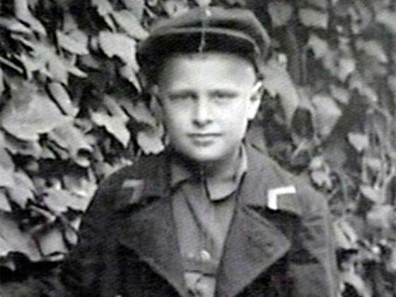 Олег Басилашвили в детстве