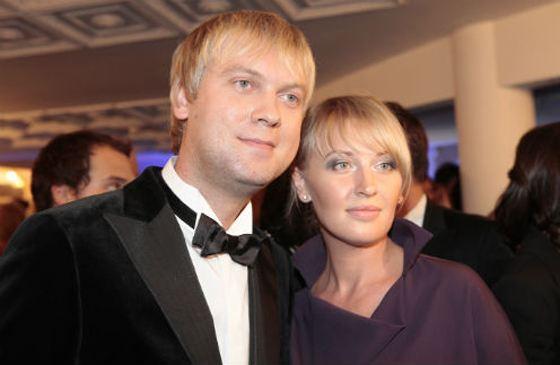 Сергей Светлаков с первой женой Юлией