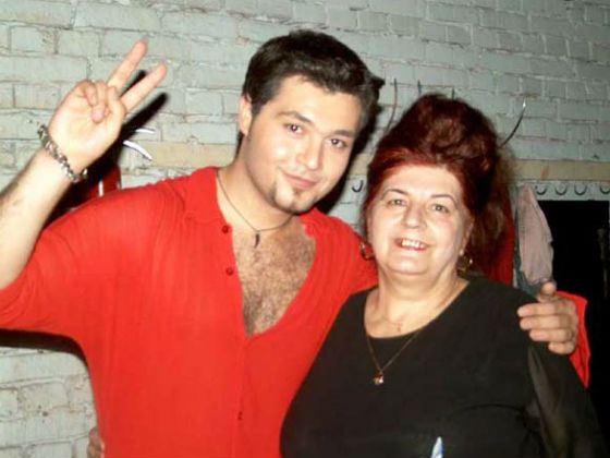 Алексей Чумаков с мамой Лилией Аванесовной