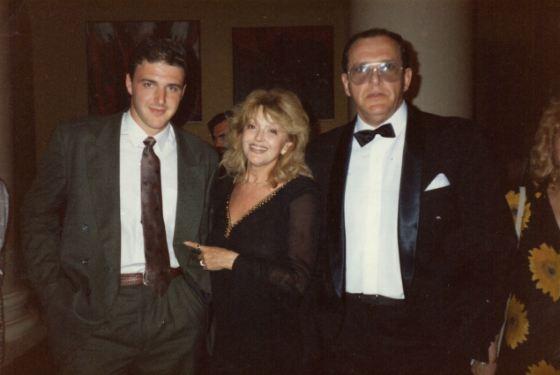 Эммануил Виторган с женой и сыном