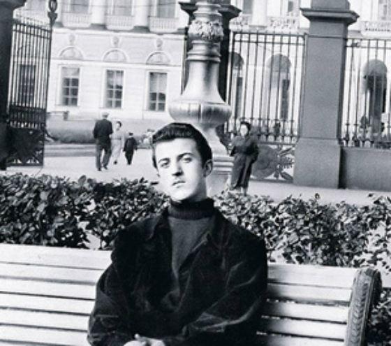 Илья Резник в юности