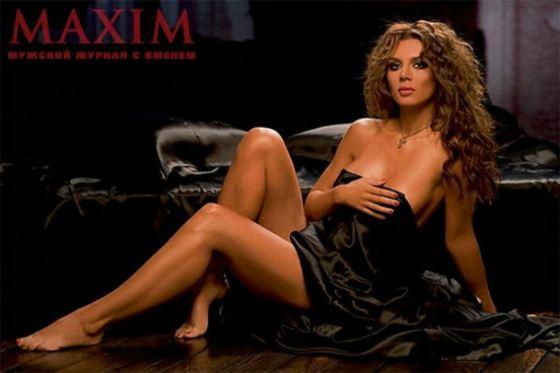 Анна Седокова снялась для журнала MAXIM