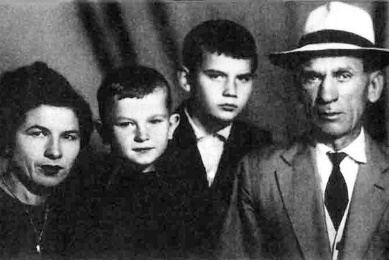 Семья Игоря Талькова
