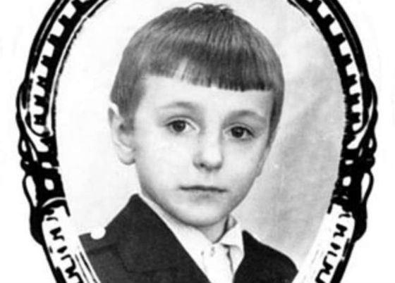 Знаменитое школьное фото Безрукова