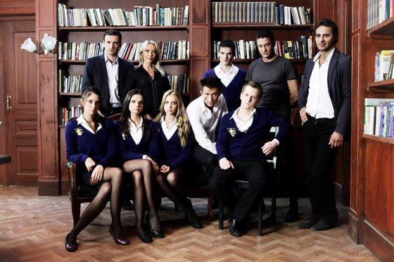 Агата Муцениеце в сериале «Закрытая школа»