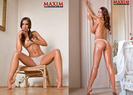 Агата Муцениеце в фотосессии для Maxim