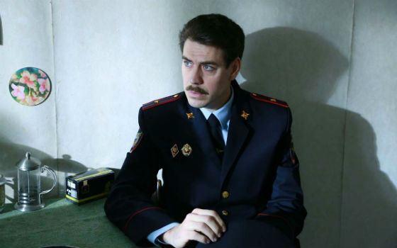 Дмитрий Дюжев в сериале «Рая знает»
