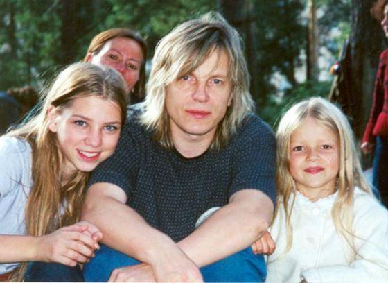 Алиса Салтыкова (слева) с отцом