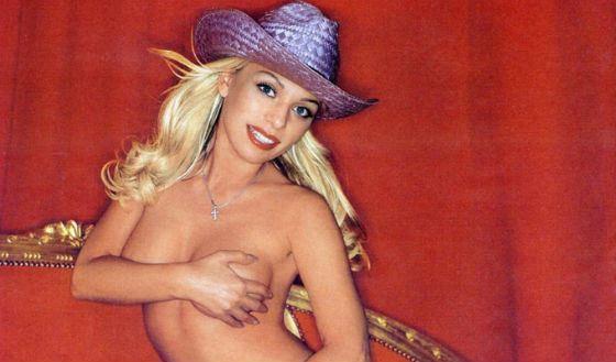 Фрагмент фотосессии Салтыковой для Playboy