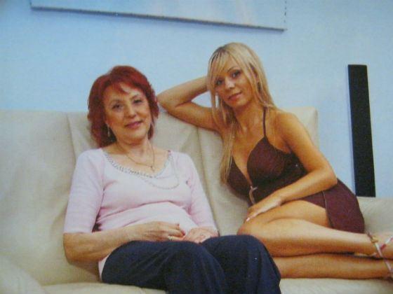 Ирина Салтыкова с мамой