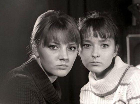 Сестры Марианна и Анастасия Вертинские
