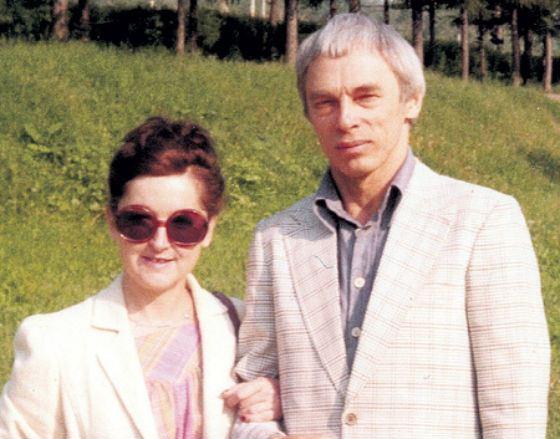 Александр Зацепин с француженкой Женевьев