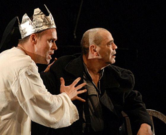 Одна из трех ролей Аверина в спектакле «Ричард III»