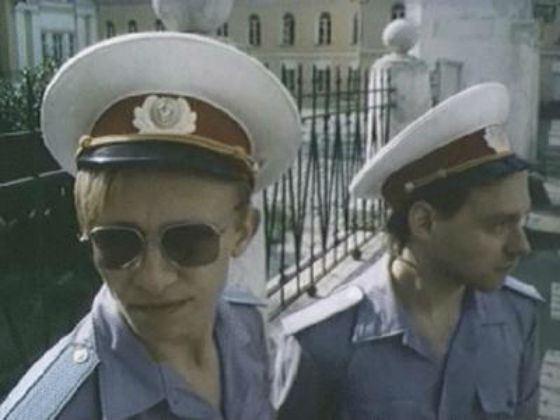 Охлобыстин (слева) сыграл милиционера в своей короткометражке