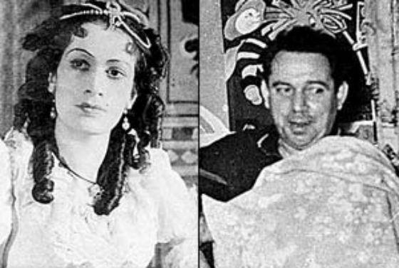 Родители Владимира Машкова: Наталья Иванова и Лев Машков