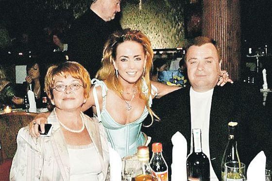 Жанна Фриске с родителями