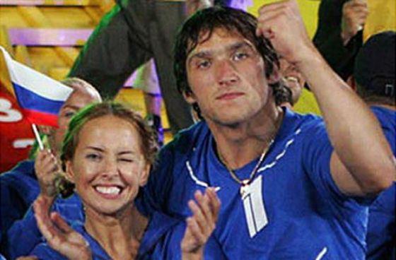 Жанна Фриске и Александр Овечкин