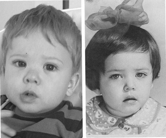 Сын Жанны Фриске как две капли воды похож на маму в детстве