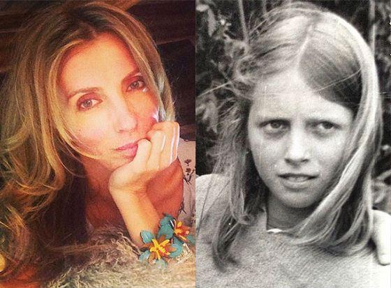 Жена Федора Бондарчука в молодости