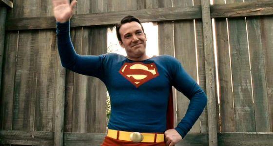 Бен Аффлек – супермен!