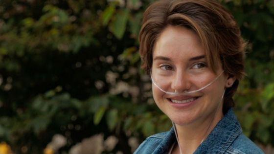 В «Виноваты звезды» Шейдин Вудли сыграла больную раком девушку