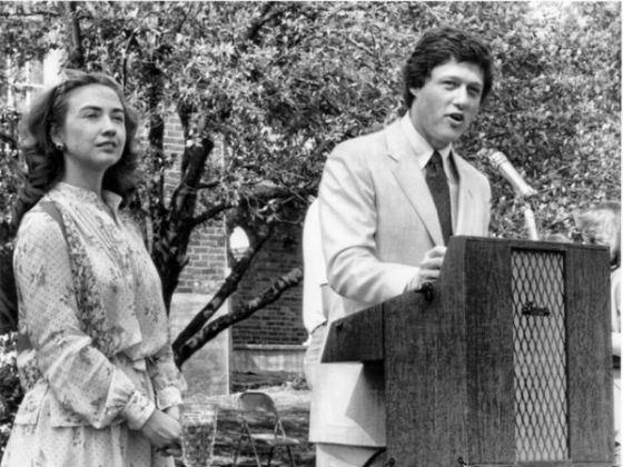 Хиллари Клинтон всегда и во всем поддерживала мужа