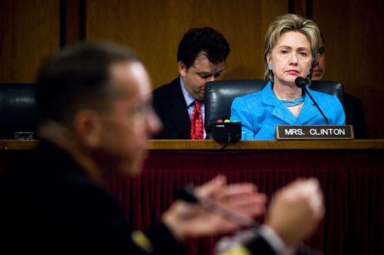 Хиллари Клинтон в Сенате США