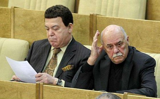 В 2011 году Станислав Говорухин был депутатом Госдумы