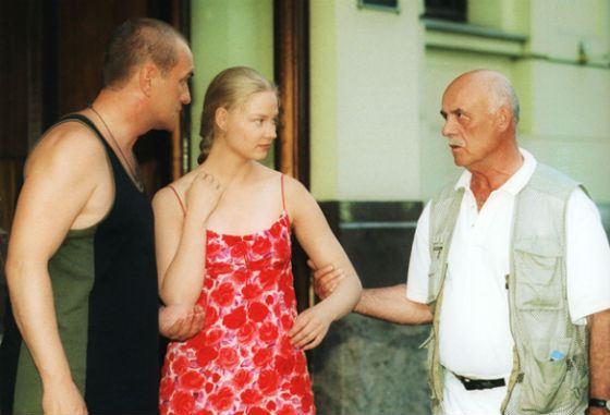 Говорухин и Ходченкова на съемках фильма «Благословите женщину»