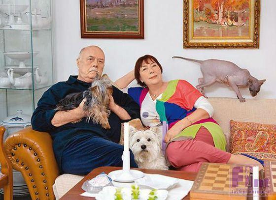 Станислав Говорухин и его вторая супруга Галина прожили долгие годы вместе