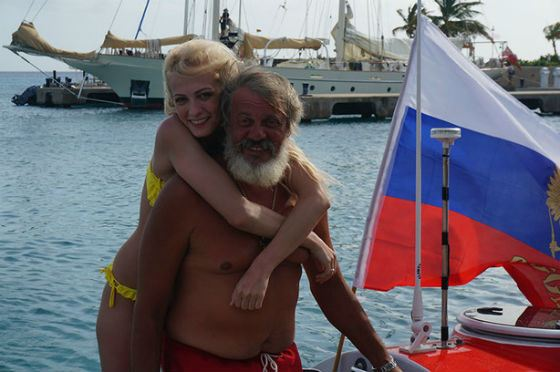 Полина Максимова с отцом